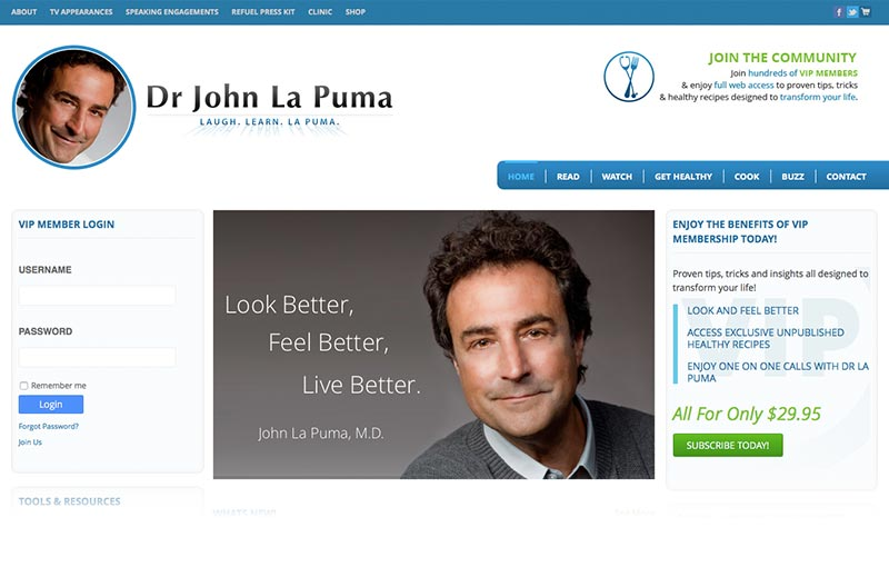 Chef MD's Dr John La Puma
