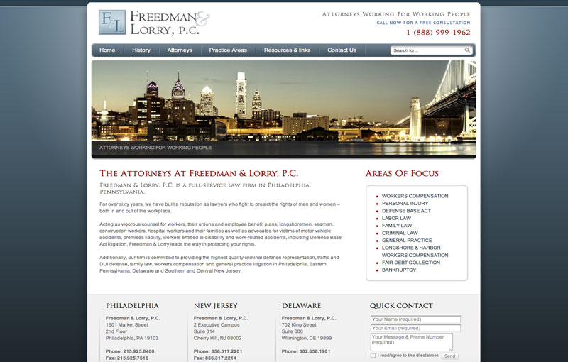 Freedman & Lorry, P.C. Criminal Division