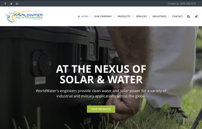WorldWater & Solar Technologies