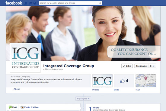 ICG Social Pages