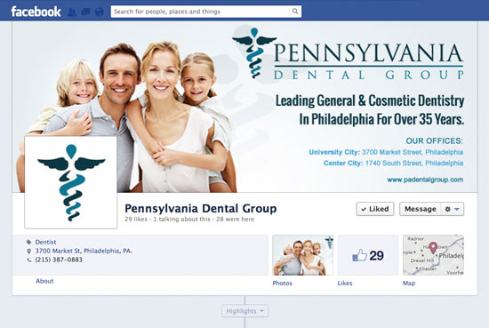Pennsylvania Dental Group Social