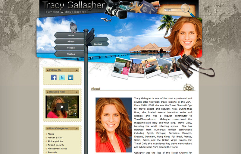 Travel Expert Tracy Gallagher