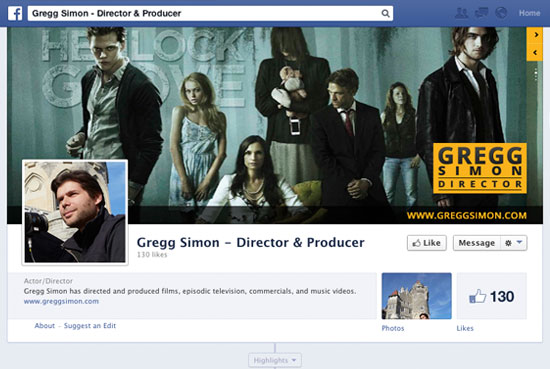Gregg Simon Social Pages