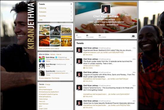Kiran Jethwa Social Pages