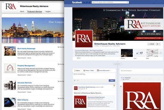 Rittenhouse Realty Advisors Social