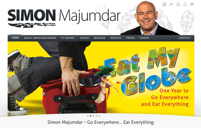Food Author Simon Majumdar
